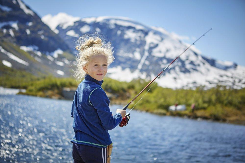 Familiefiske - Når det å få fisk er viktigare enn størrelsen.