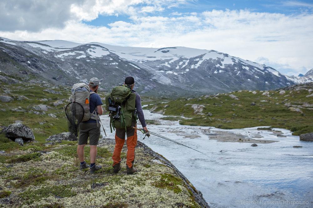 Breheimen - Mellom høge fjell og isbrear.
