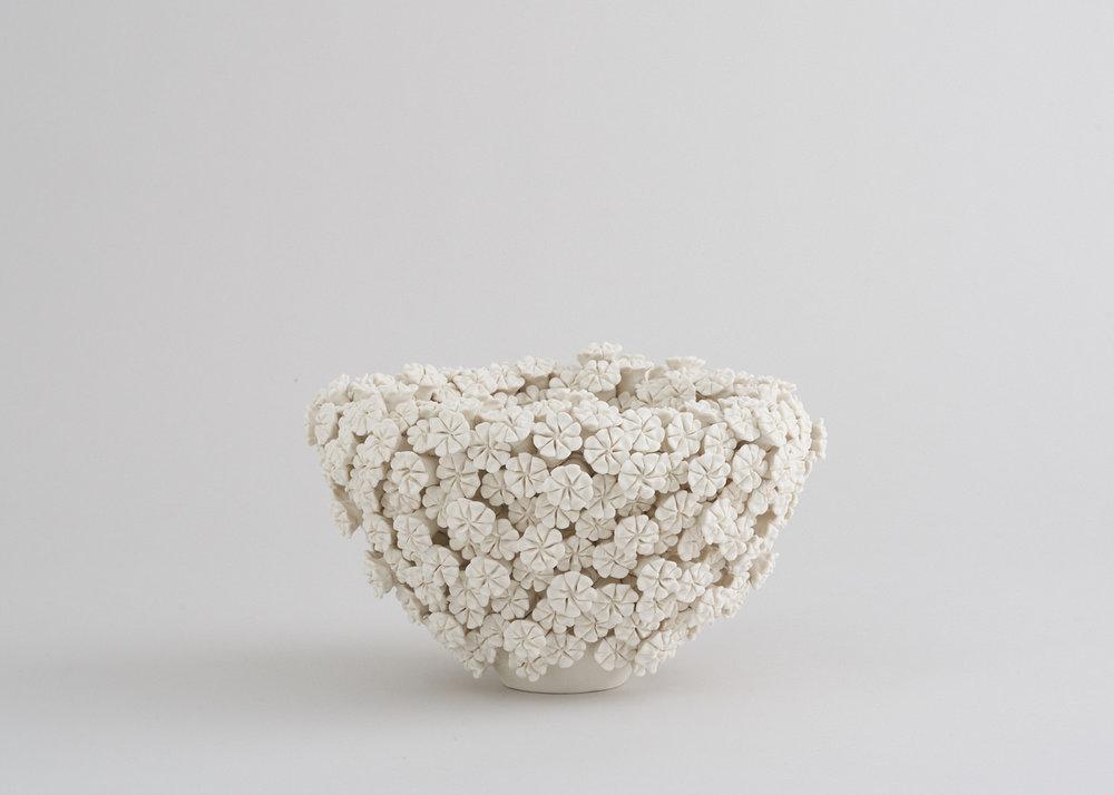 DAISY, porcelain, 13.5cm H, 23cm W, £1200
