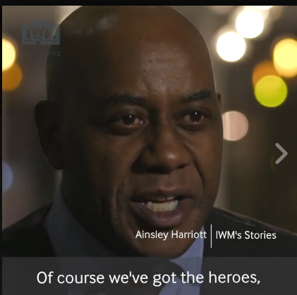 Imperial War Museum 100 Years                      - Ainsley Harriott