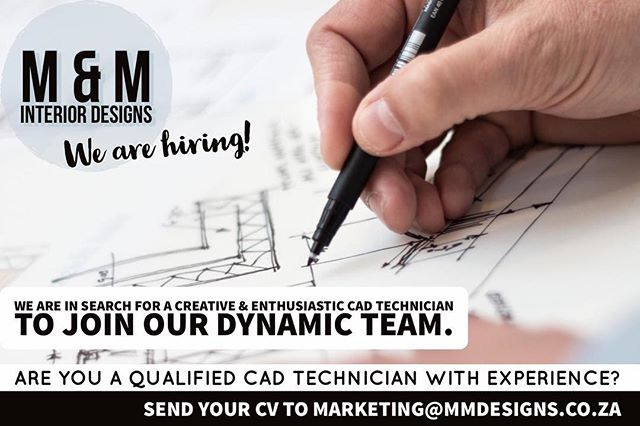 •We are hiring | Send your CV to marketing@mmdesigns.co.za  #tagafriend#ballito#umhlanga#interiordesign#interiordesignsouthafrica#wearehiring