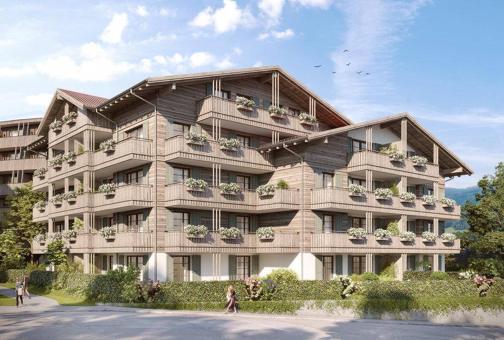 Residenz Leeberg - exklusive Eigentumswohnungen im Herzen von Tegernsee