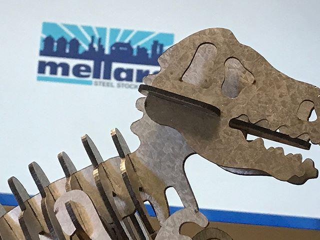 Lasered T-Rex jigsaw #rawr