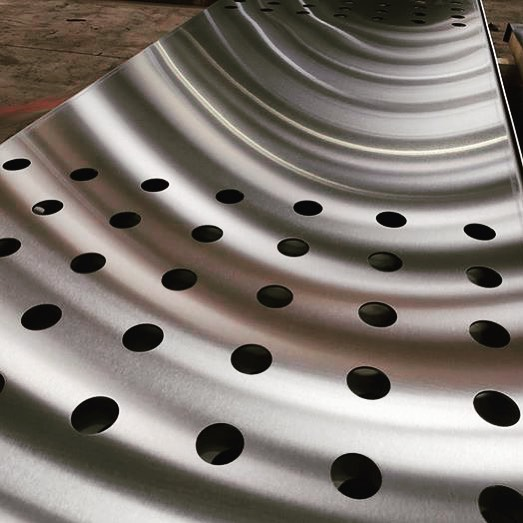 Stainless Steel channels ready for despatch #laser #lasercutting #pressbrake
