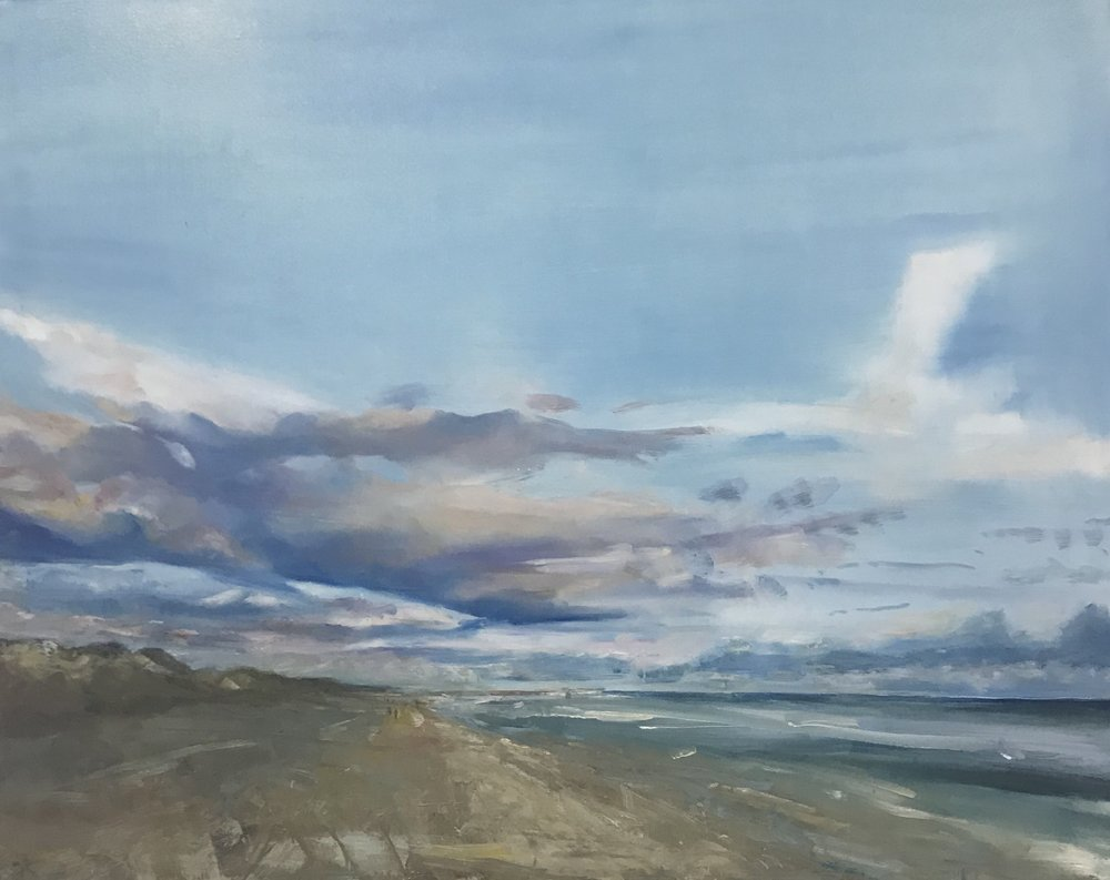 Wittering changing sky