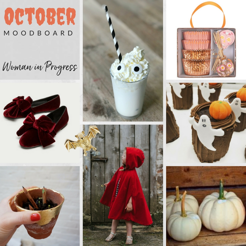 Woman in Progress October Moodboard