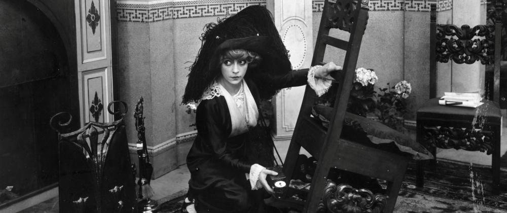 Asta Nielsen elokuvassa The Suffragette