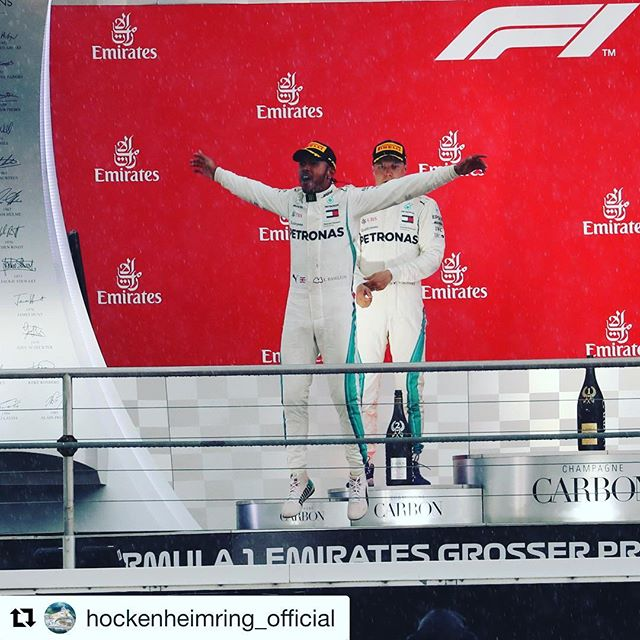 Amazing feeling to help deliver another fantastic German GP here in Hockenheim. And WHAT a race it turned out to be! Home fans may not have got the result they wanted but boy did they get a great race and a worthy winner in @lewishamilton  ________________________________________________________#GermanGP #f1heimspiel #F1 #Formula1 #hockenheimring #hockenheim #whenitrainsitpours