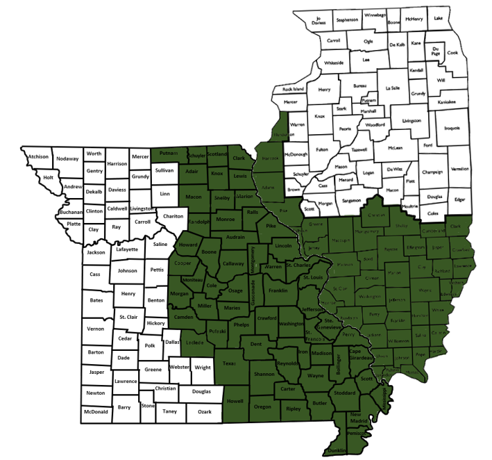 EASTERN MO & SOUTHERN IL
