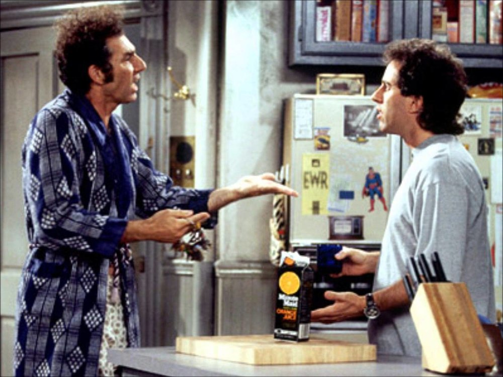 kramer and jerry discuss uber