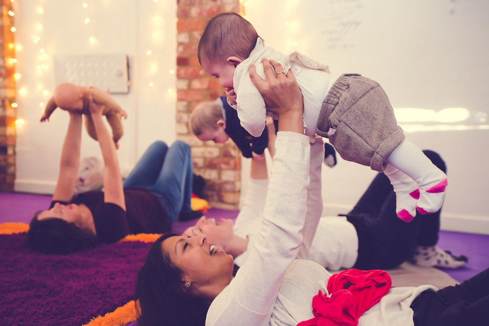 Sensory Baby Yoga - 4/5m to Crawling - Friday 9.45am - 4wks £32