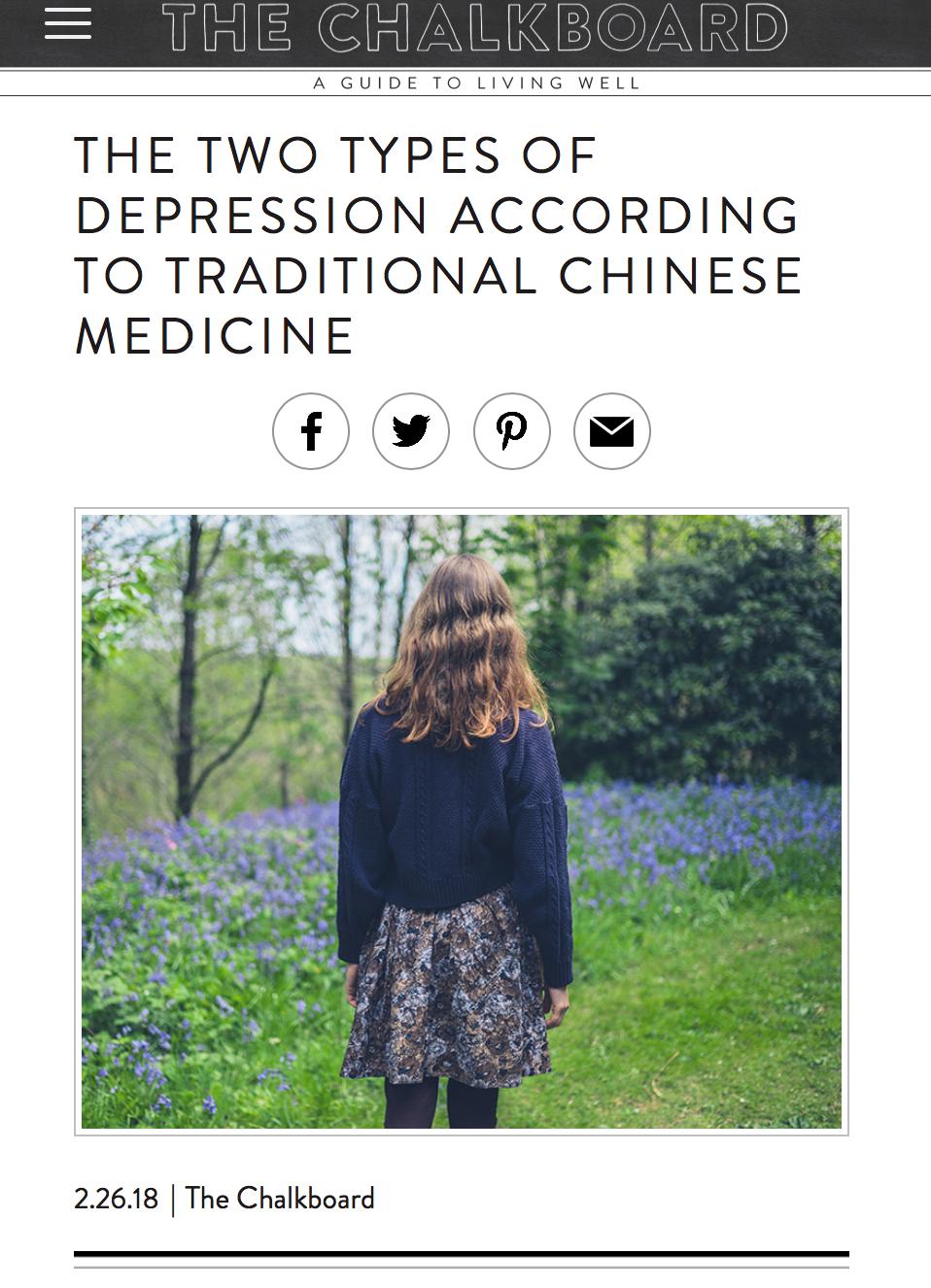 chinesemedicinedepression