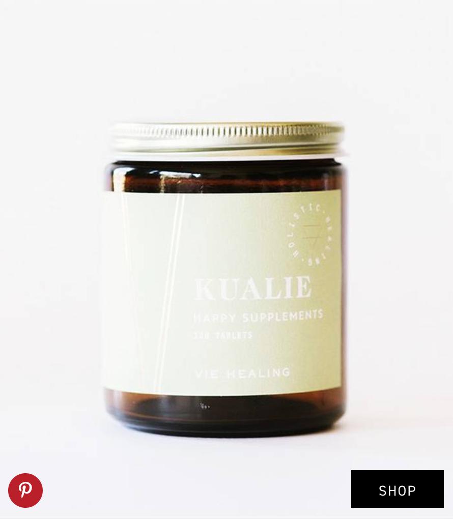 Kualie  Happy Supplements ($64)