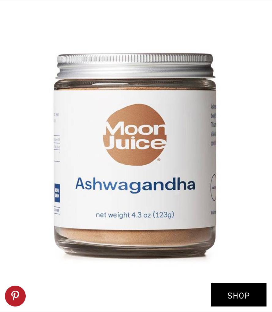 Moon Juice  Ashwagandha ($38)