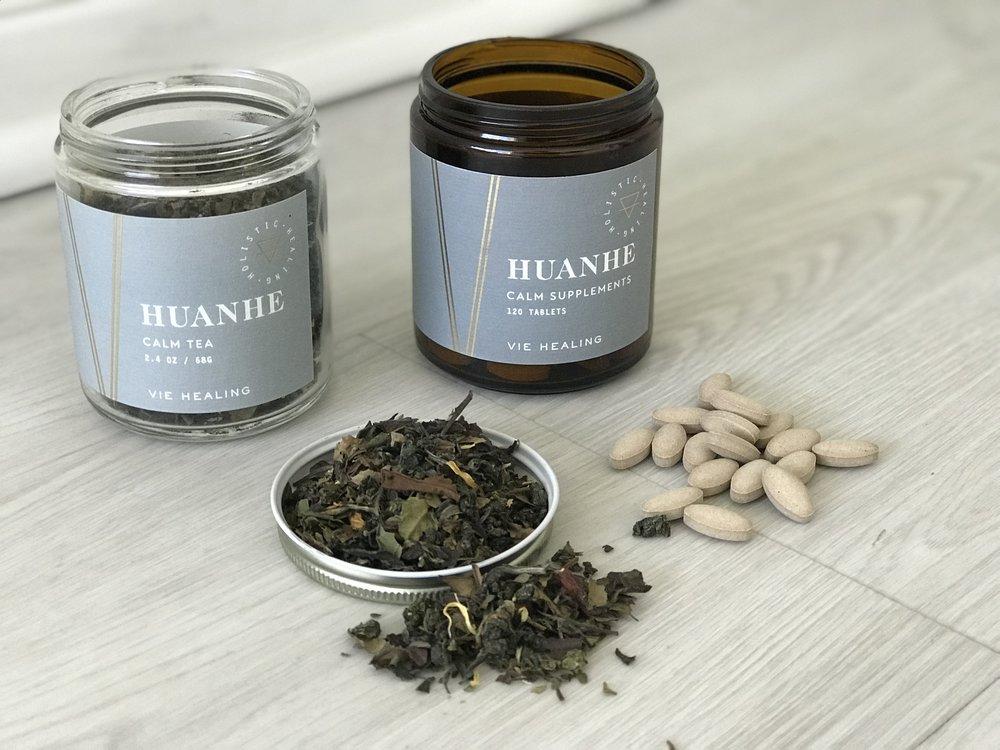 Vie Healing Calm Tea and Supplements ($80,  viehealing.com )