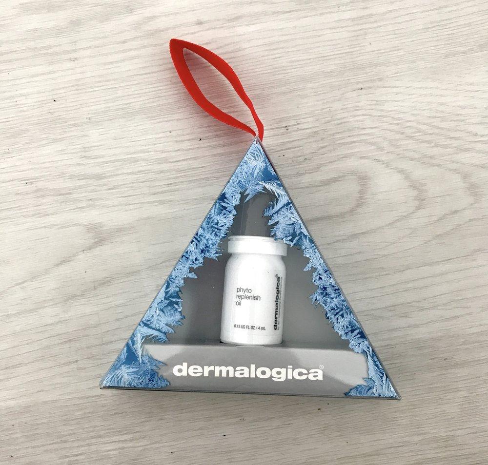 Dermalogica Phyto Replenish Oil Stocking Stuffer Ornament ($18,  dermstore.com )