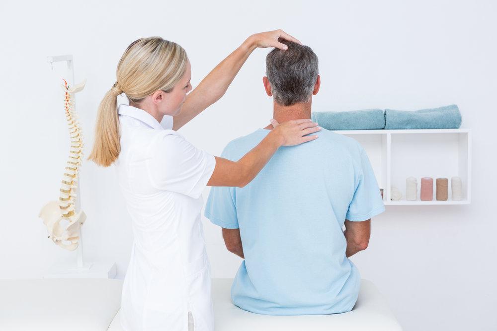 Chiropractic Patient Consultation