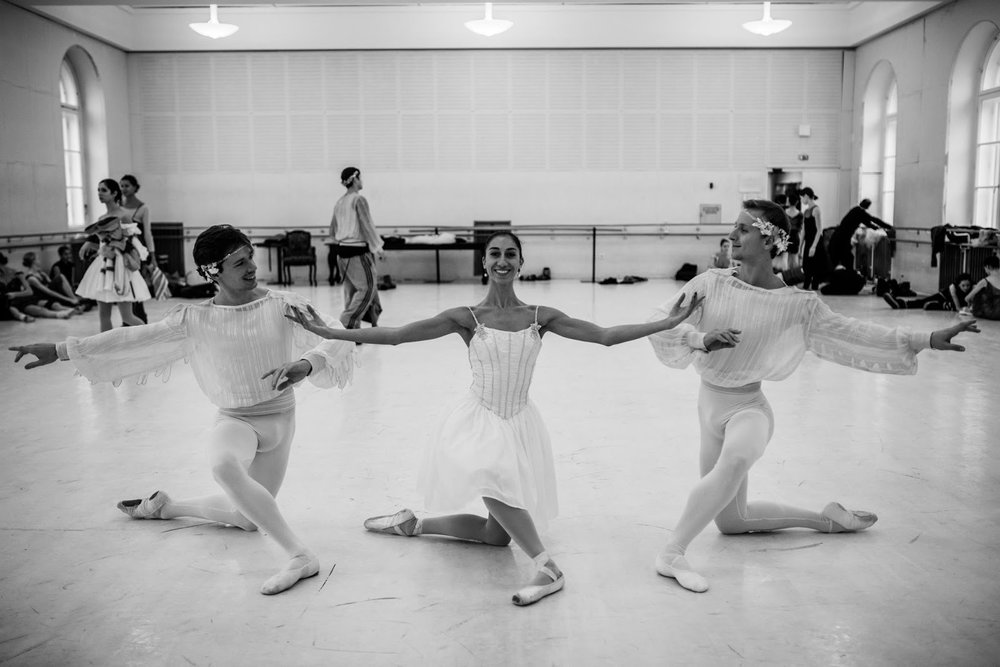Géraud Wielick, Ioanna Avraam, Dumitru Taran (Copyright: Ashley Taylor)