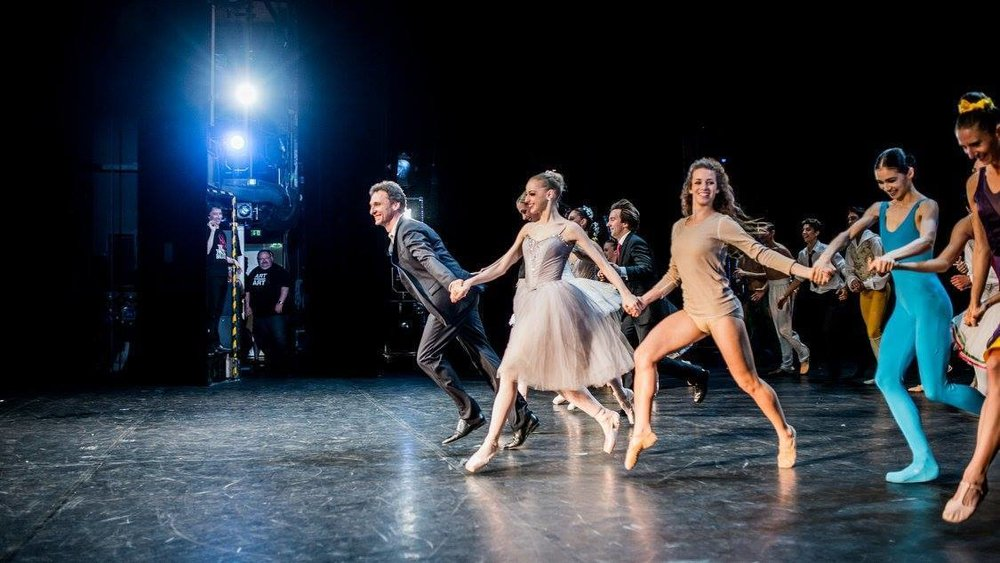 Manuel Legris and his dancers (Copyright: Ashley Taylor)