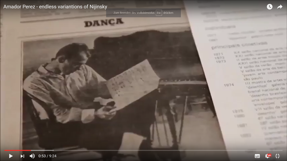 Endless variations of Nijinsky -