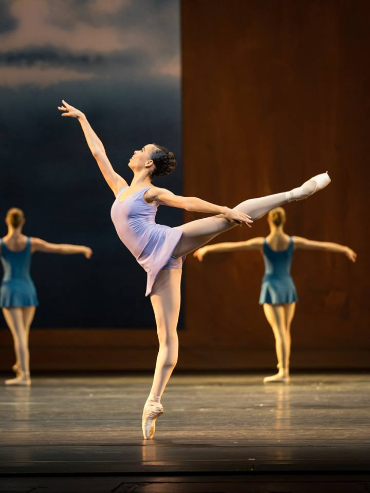 Copyright: Vienna State Ballet / Ashley Taylor (Nikisha Fogo)