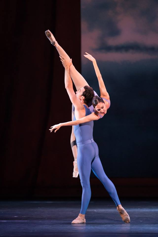 Copyright: Vienna State Ballet / Ashley Taylor (Nina Poláková & Roman Lazik)