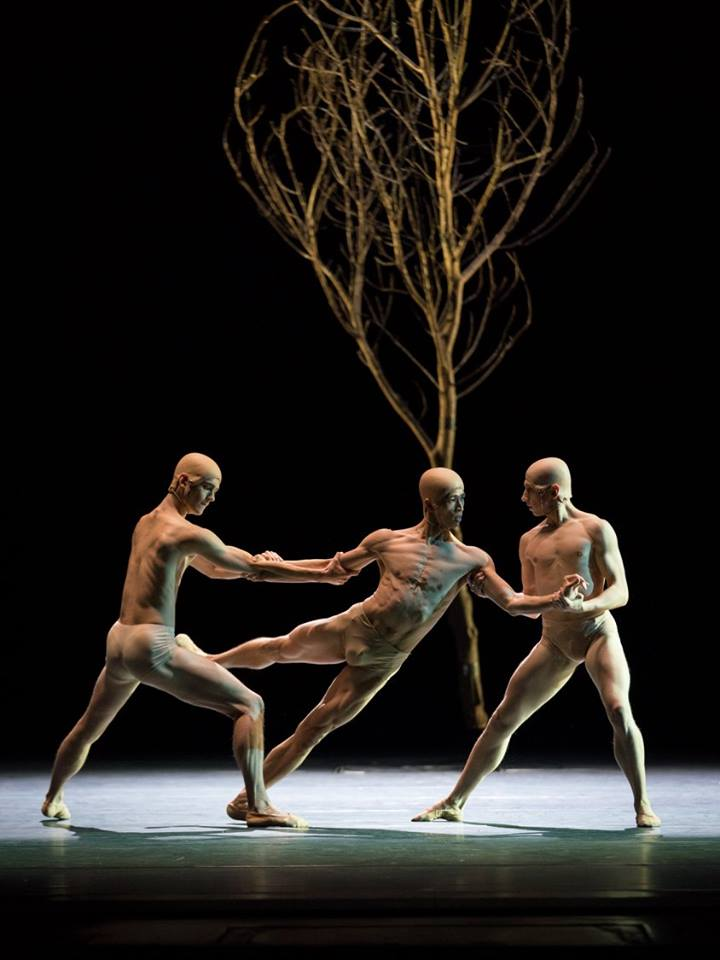 Copyright: Vienna State Ballet / Ashley Taylor (Masayu Kimoto, Tristan Ridel & Denys Cherevychko)