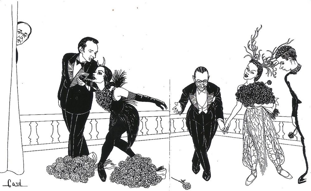 Mr. B., Toumanova, Stravinsky, Leskova: Les Ballets Russes, N.Y. (1941)