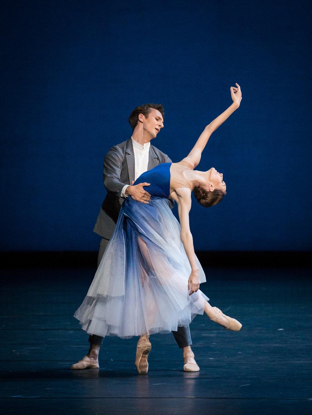 Olga Smirnova and Semyon Chudin. Copyright: Vienna State Ballet/Ashley Taylor