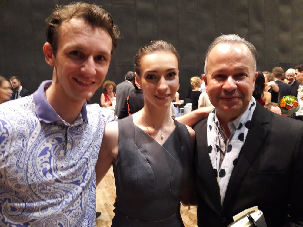 with Olga Smirnova and Semyon Chudin.