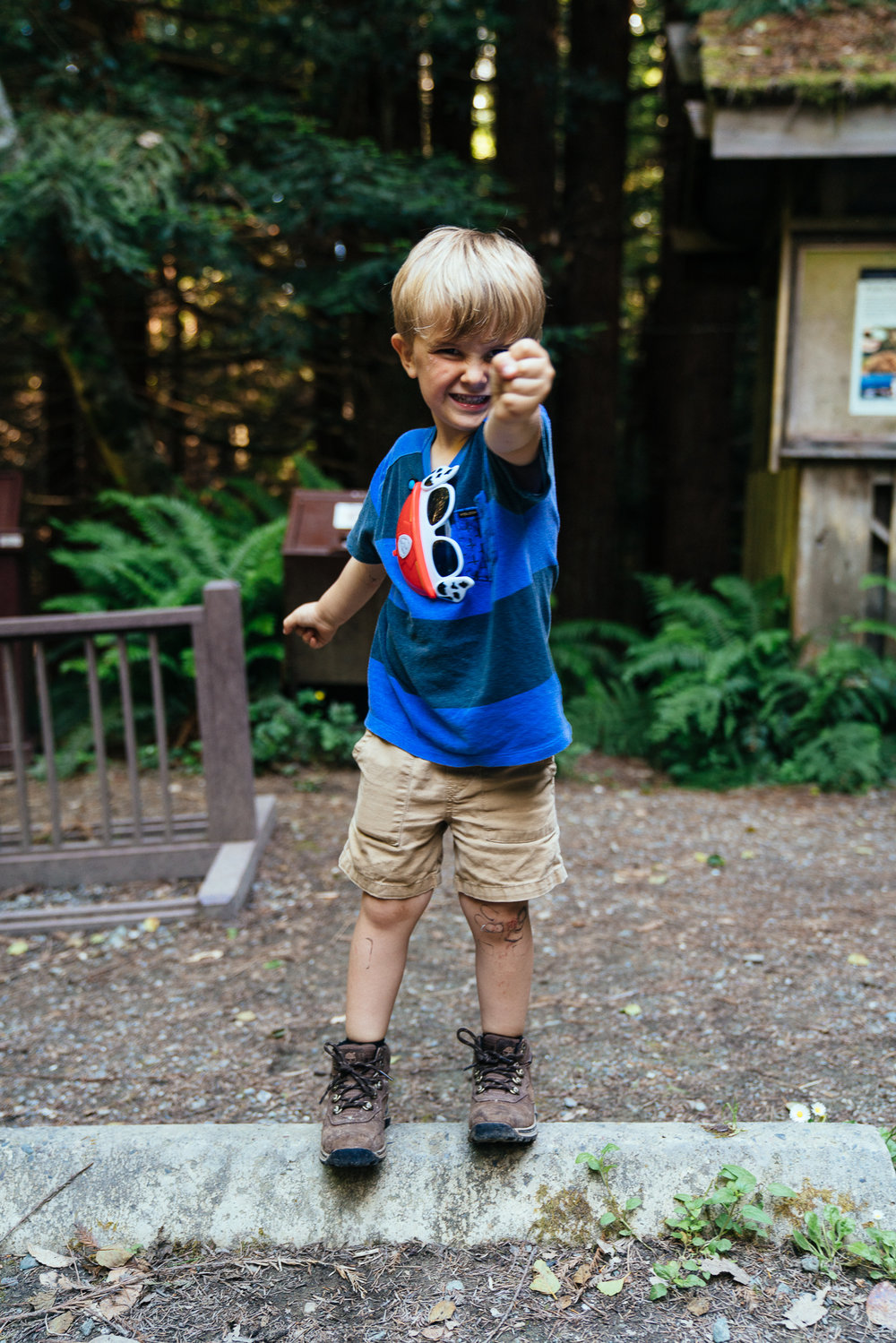Scabbed knees and bandaid residue are the markers of a good childhood summer, right?