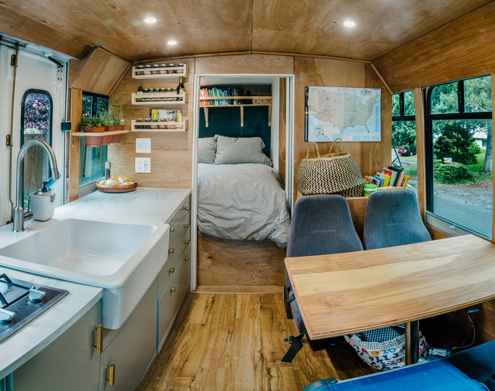 Diy Van Conversions >> Why We Bought a Bus vs. a Van or RV — American Field Trip