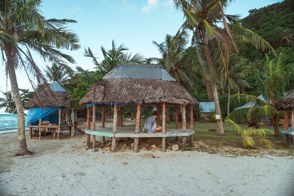 Namu'a Island Beach Fales