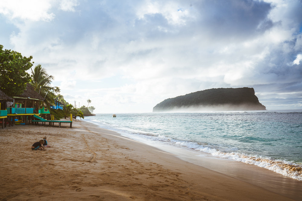 Taufua Beach Fales