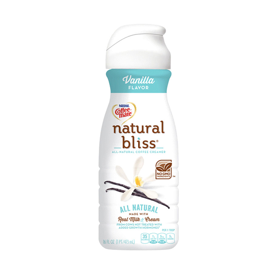 Coffee-Mate Natural Bliss Branding and Design