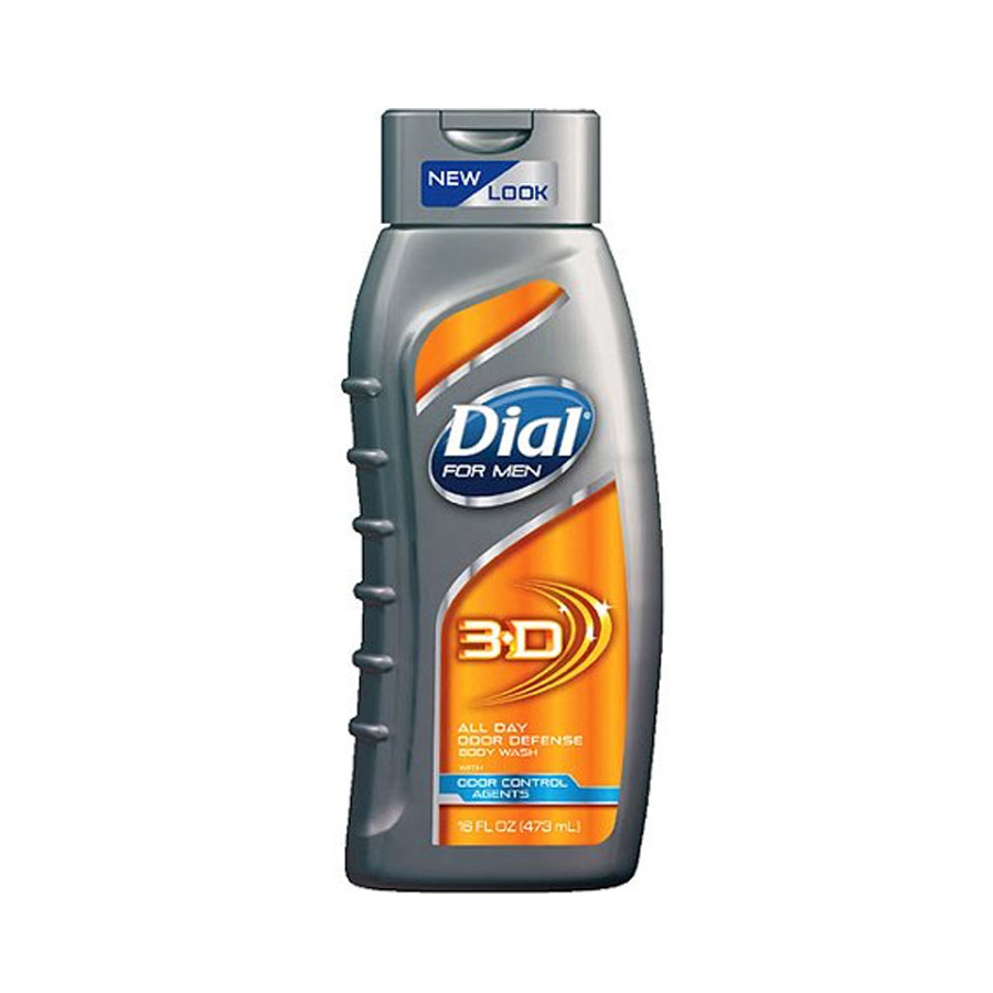 Dial 3D Body Wash Product Innovation