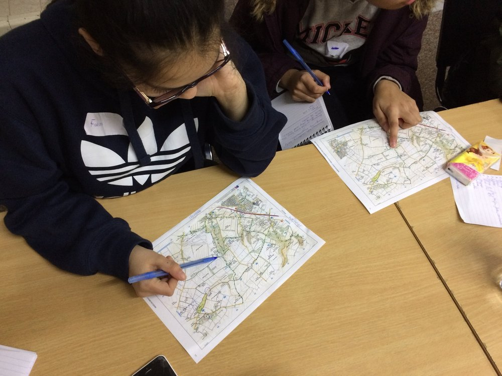 Shared Outcomes participants studying for their Duke of Edinburgh Bronze expeditions.
