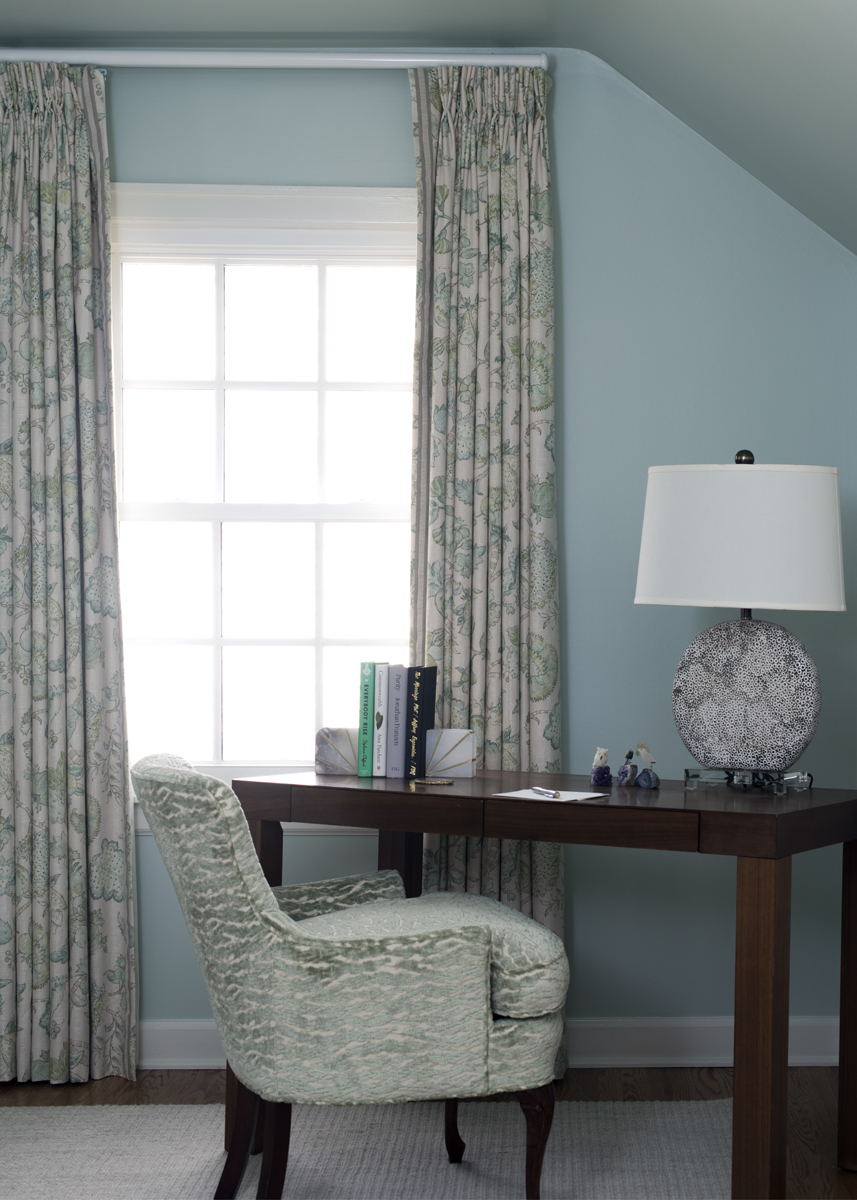 Designer Curtains, Office Decor