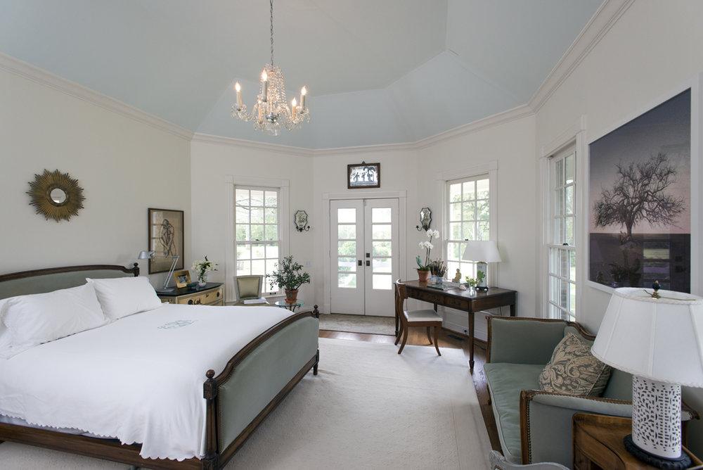White Master Bedroom Design