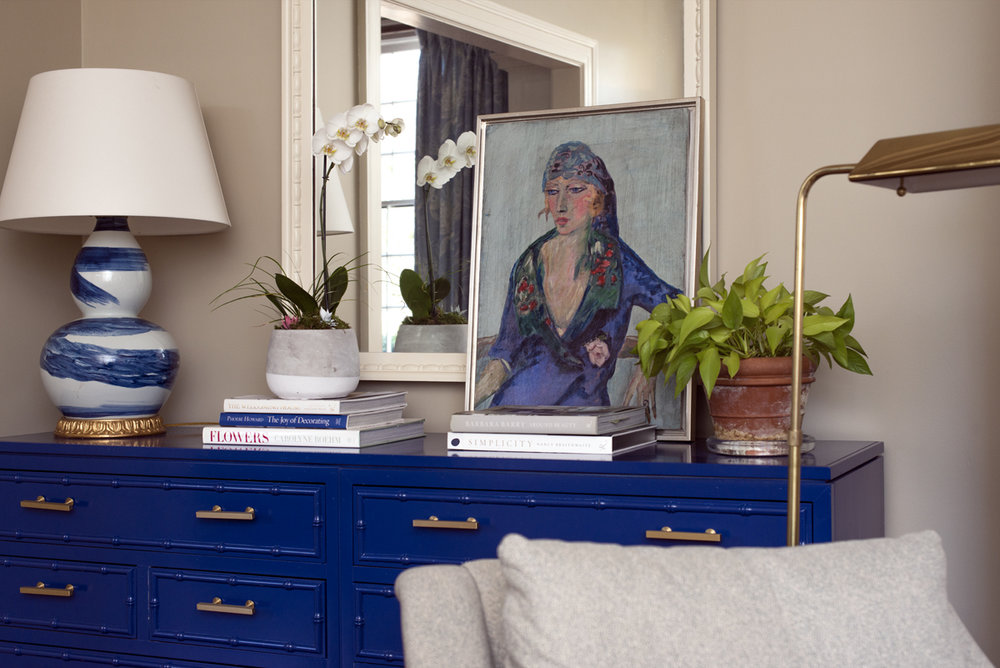 Royal Blue home decor