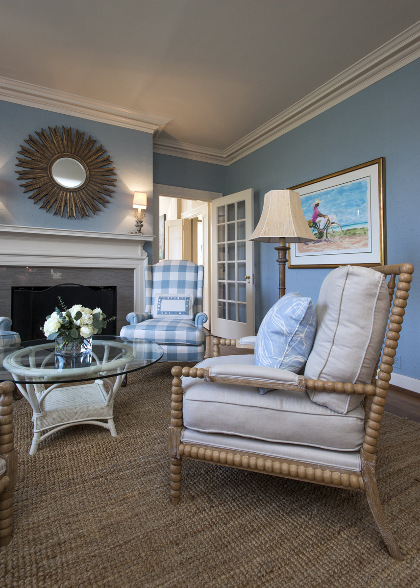 Light blue living room inspiration