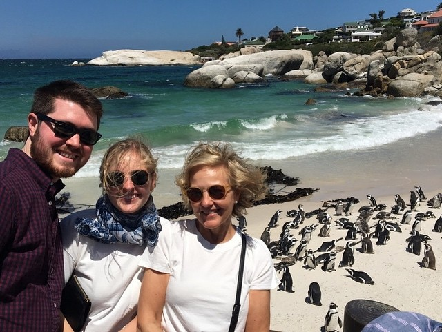 Learned today that penguins have a lot of personality 🇿🇦