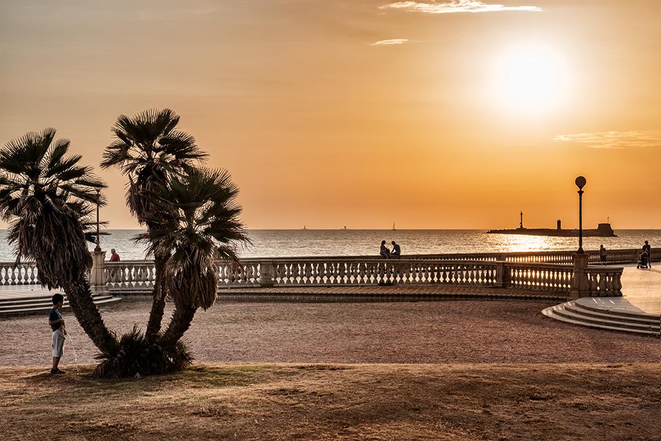Landscape in Livorno