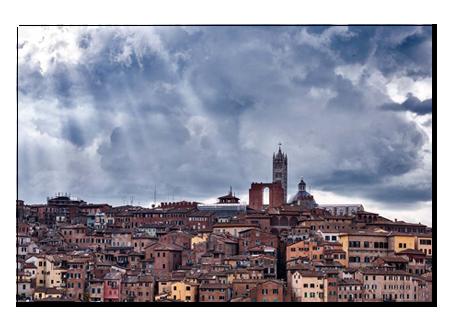 Light Rays on Siena