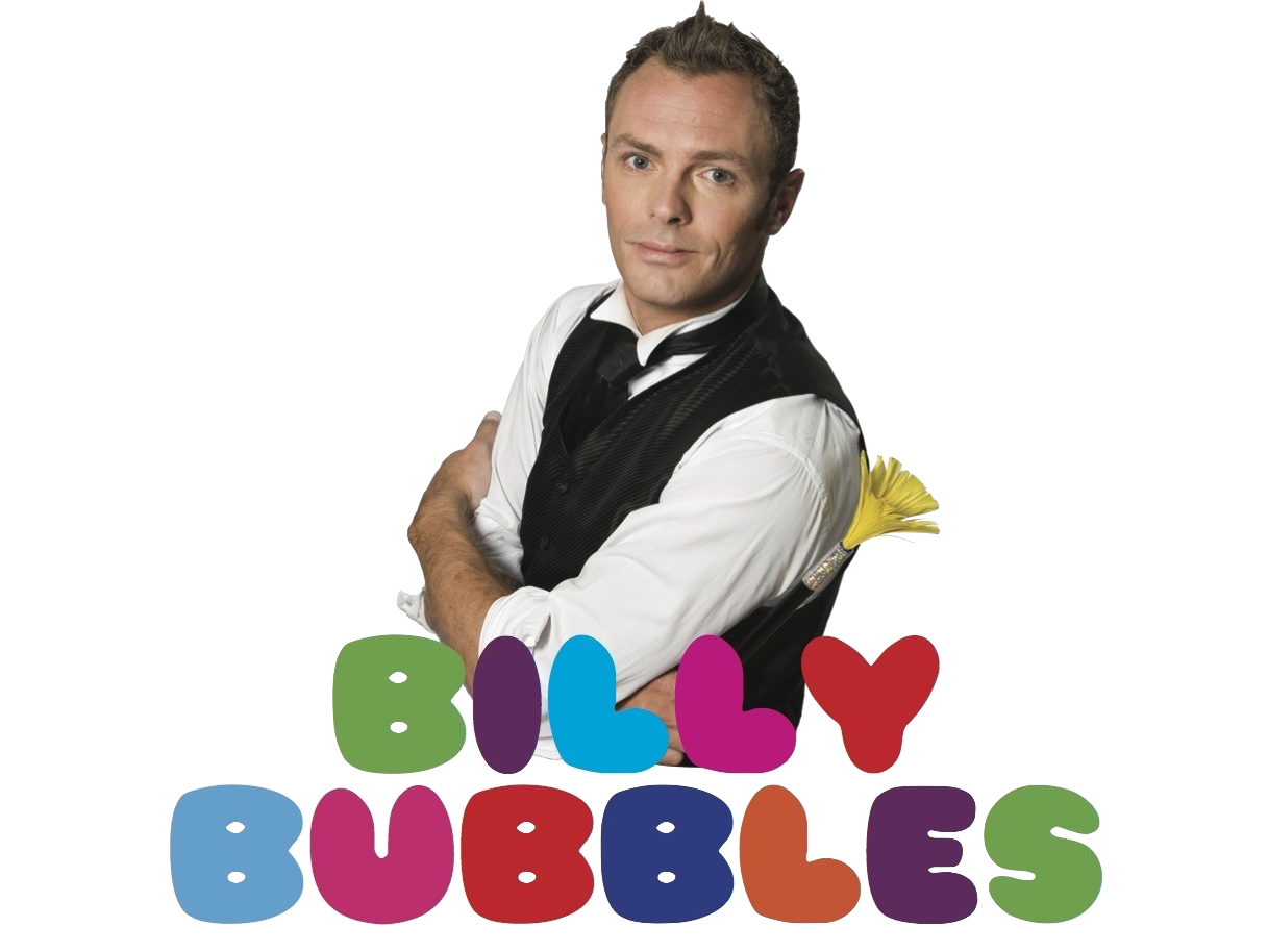 Magician Billy Bubbles | STRESS FREE kids birthday parties with Dublin magician & entertainer Billy Bubbles