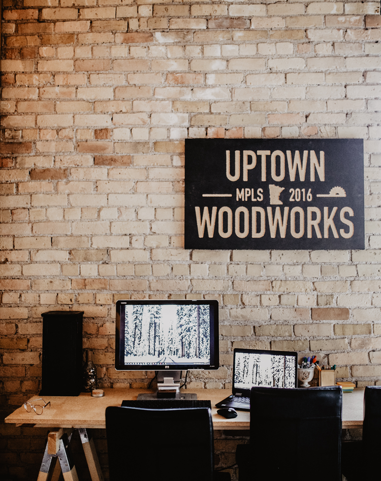 Uptown Woodworks - Wooden Wall Art — Restored Daily