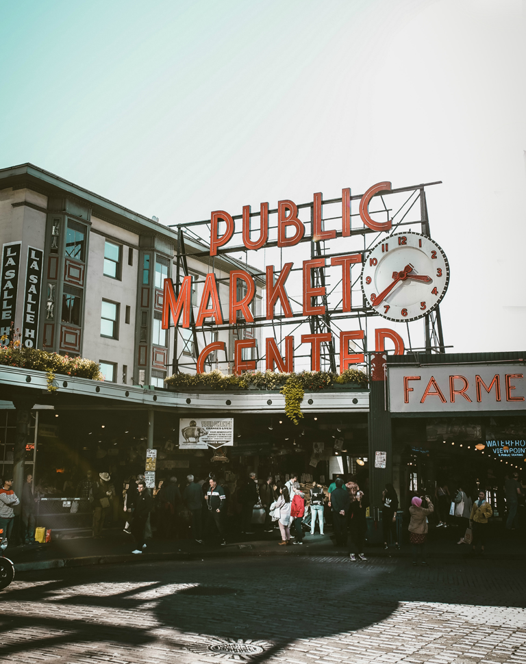 Restored Daily Seattle Pike Place Market Center