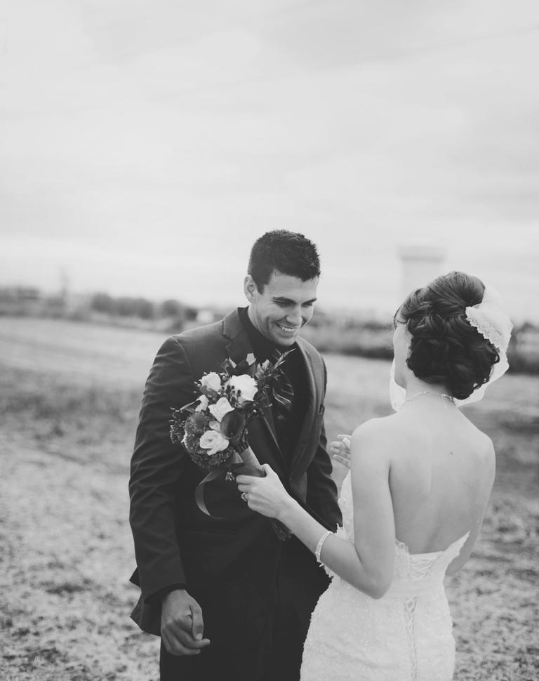 Restored Daily Blog Minnesota Wedding Photography - First Look