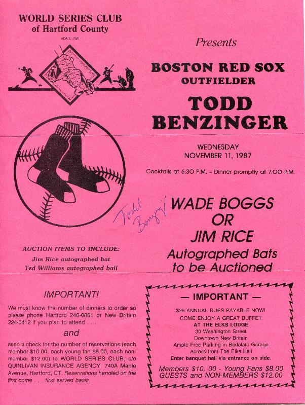 19871111 Todd Benzinger flyer.jpg
