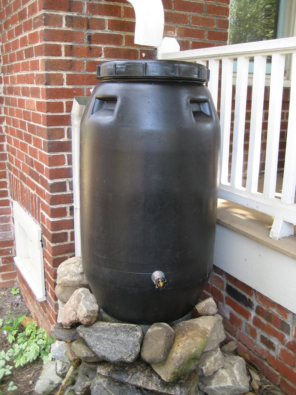 Rainwater Harvesting Tank Asheville, NC